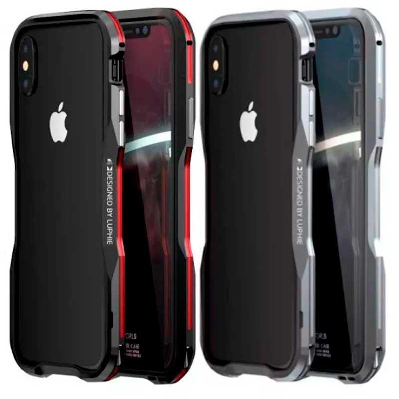 case protector iphone x aluminio