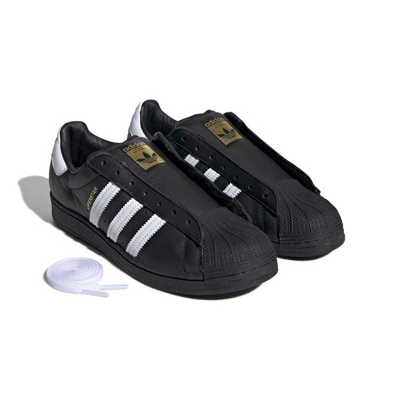 superstar laceless shoes
