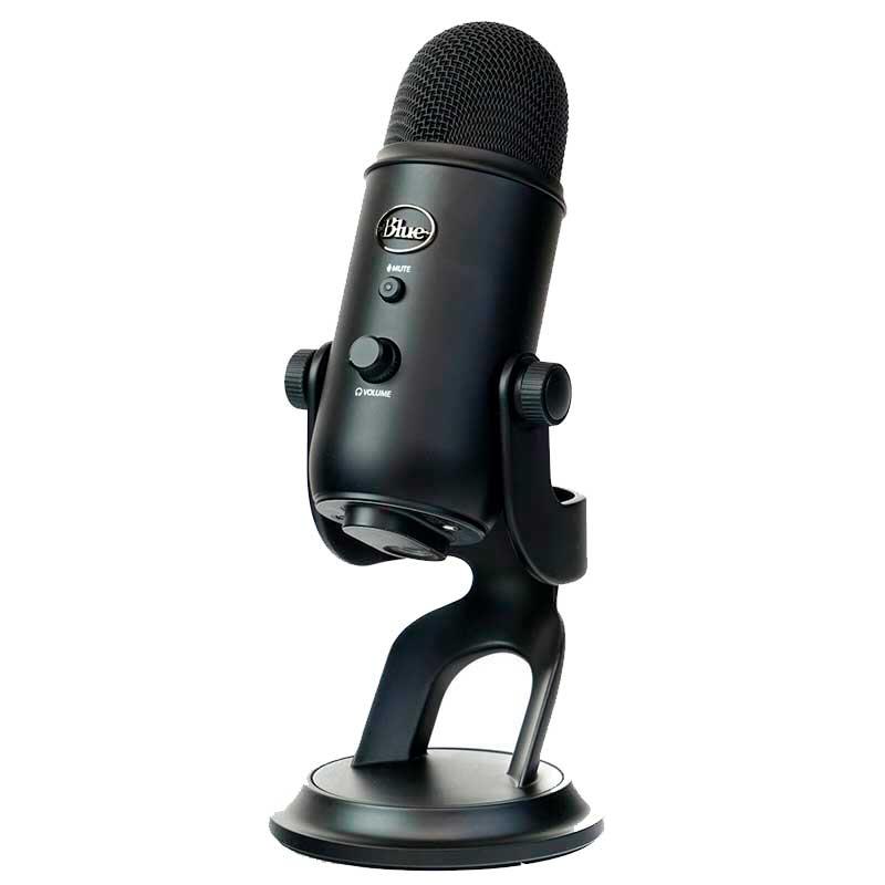 microfono blue yeti color negro
